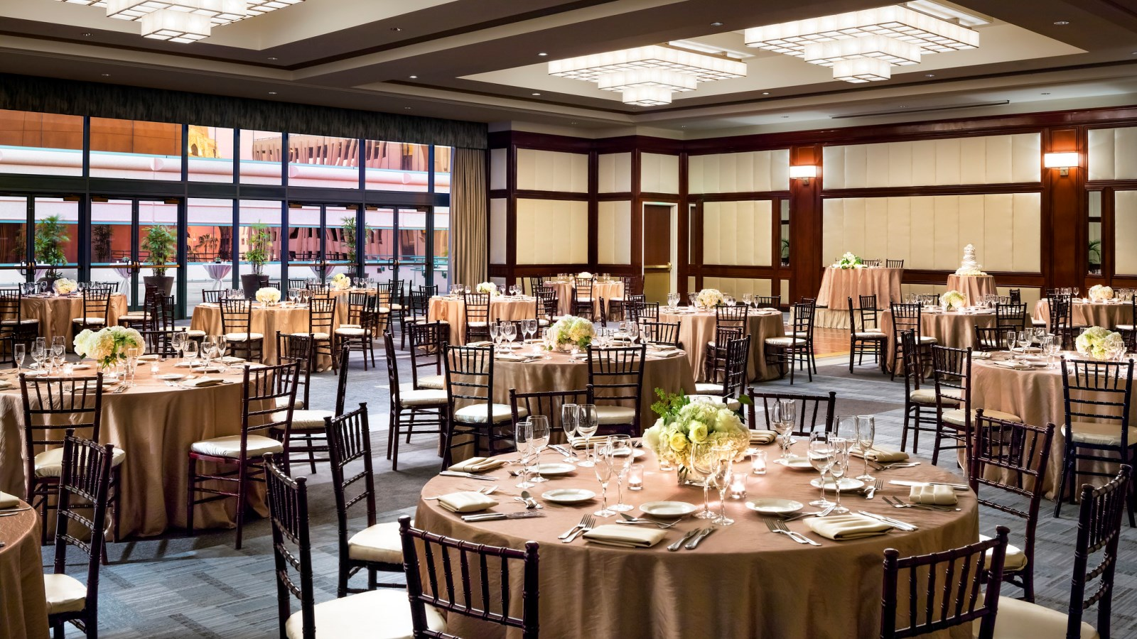 Long Beach Wedding Venues - Centennial Ballroom Reception