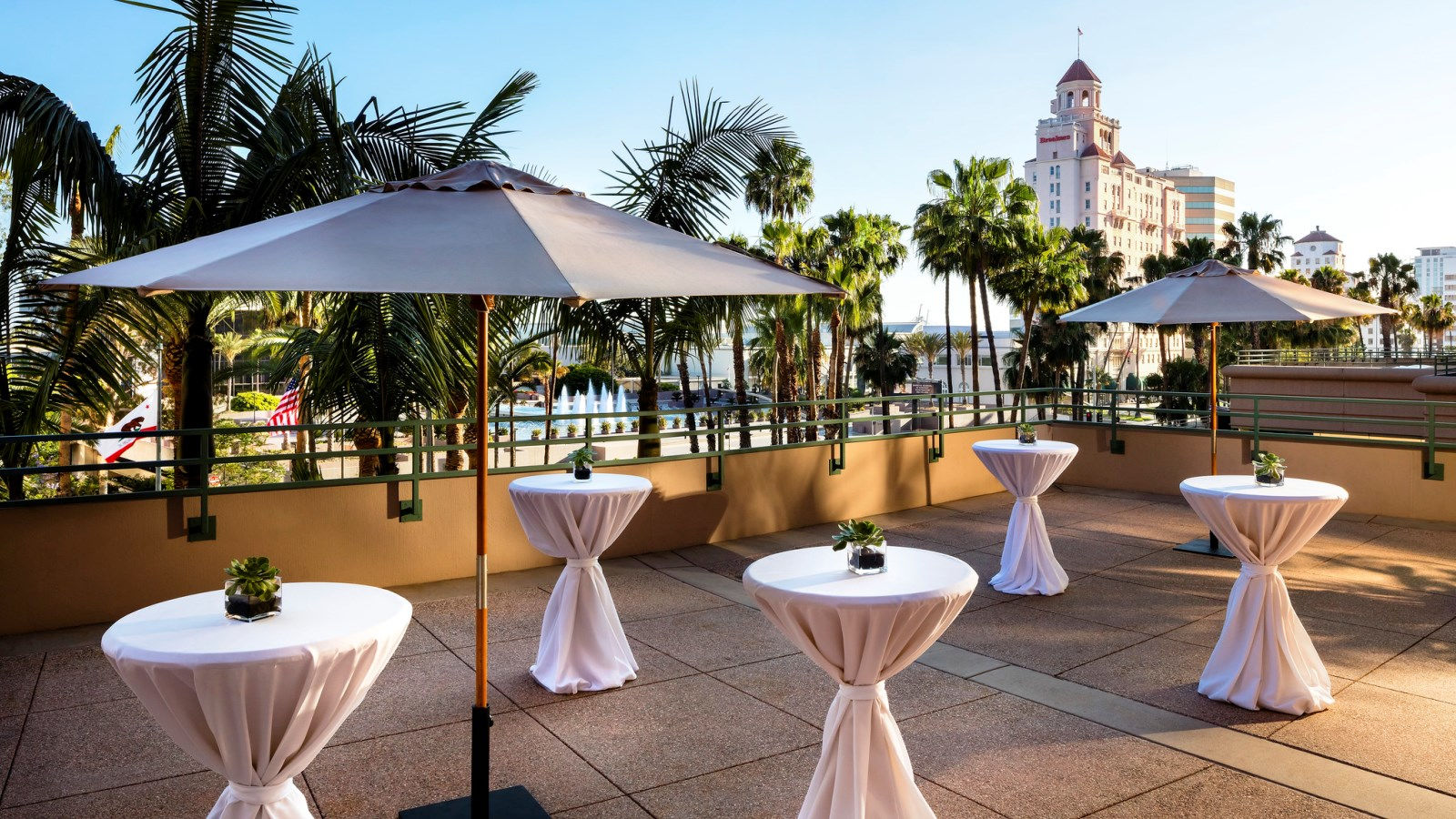 Long Beach Wedding Venues - Outdoor Terrace