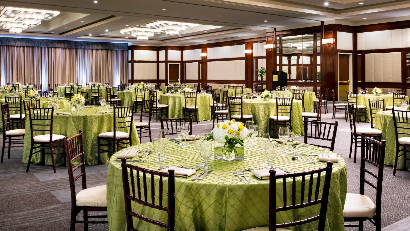 Long Beach Meeting Space -  Centennial Ballroom Banquet