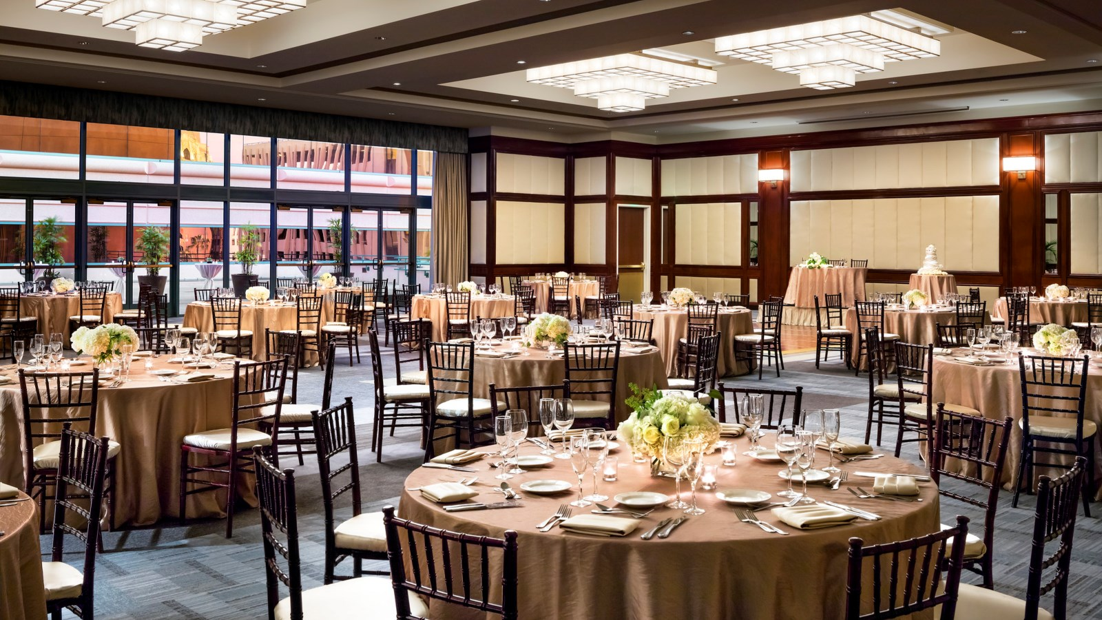 Long Beach Meeting Space - Centennial Ballroom Reception